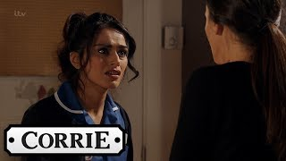 Coronation Street - Rana Leaves Kate