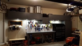 Garage storage.  Garage cabinets.