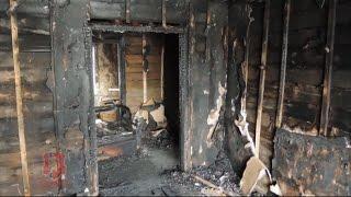 Поджог дома в Енисейске