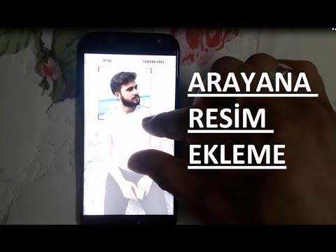 Samsung Arayana Resim Ekleme