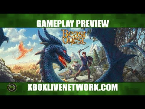 Beast Quest Gameplay on Xbox One With Deus Legend