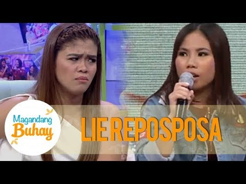 Magandang Buhay: Lie reacts to her bashers