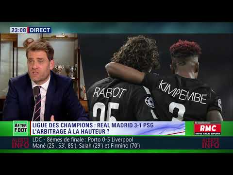 After Foot du mercredi 14/02 – Partie 2/7 - Débrief de Real Madrid/PSG (3-1)