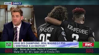 After Foot du mercredi 14/02 – Partie 2/7 - Débrief de Real Madrid/PSG (3-1)