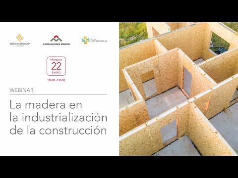 La Madera en la Industrialización de la Construcción