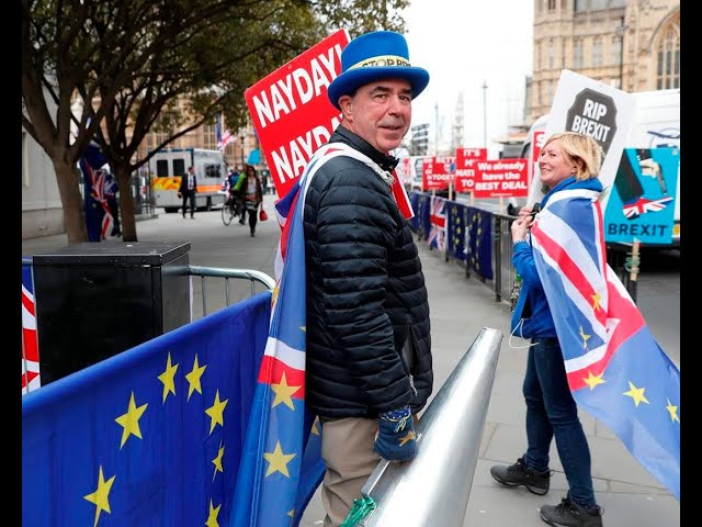 What's next for SODEM's Steve Bray and Sue Harding, and Brexiter Stu? (1 Feb 2020)