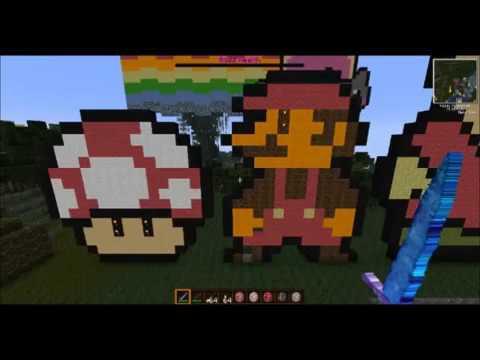 Lets Show Minecraft IDEEN ZUM NACHBAUEN GERMAN Skulpturen - Minecraft aubergewohnliche hauser