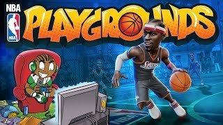 NBA Playgrounds PS4 Gameplay Reaction - Is NBA Playgrounds Better than NBA Streets Vol 2?