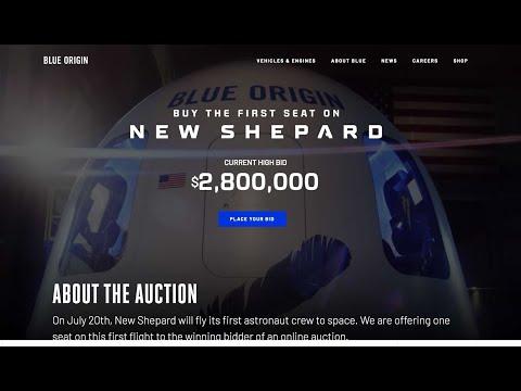QUIERES VOLAR AL ESPACIO EL 20 DE JULIO? VIAJE EN LA NEW SHEPARD DE BLUE ORIGIN POR SOLO $ 2,800.000
