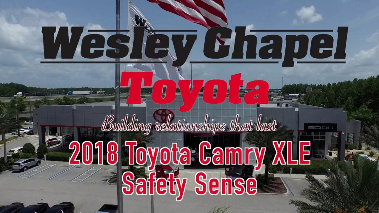 2018 Toyota Camry Safety Sense Youtube