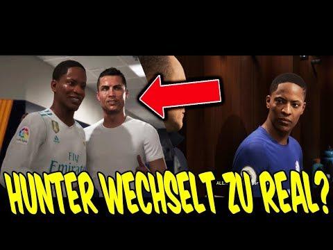 FIFA 18 DEMO THE JOURNEY 2 - HUNTER WECHSELT Zu REAL MADRID? ⛔️🔥 - Gameplay Ultimate Team Deutsch