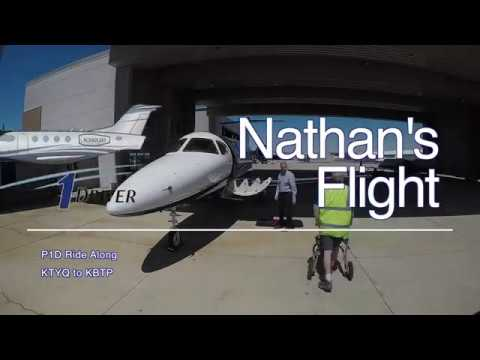 Nate's flight- P1D ride along!