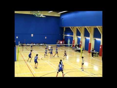 2015-16 HKSSRC Volleyball D1 Boys B grade Final DBS vs WYC