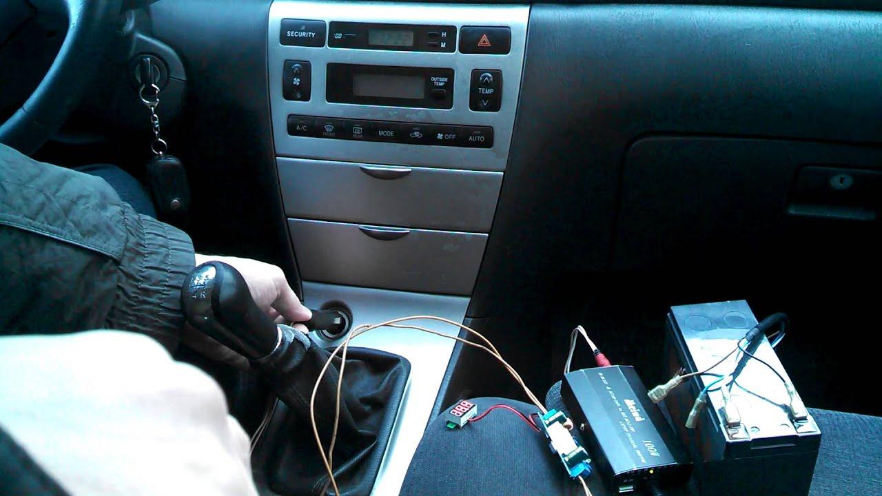 Подзарядка автомобильного аккумулятора зимой. Part1