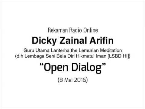 Radio Online Dicky Zainal Arifin: Open Dialog 8 Mei 2016