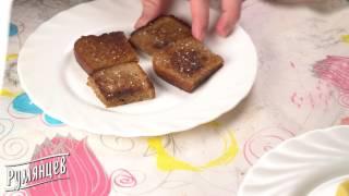 """Гренки с чесноком и сыром (перезалив)- рецепт от компании """"Румянцев"""""""