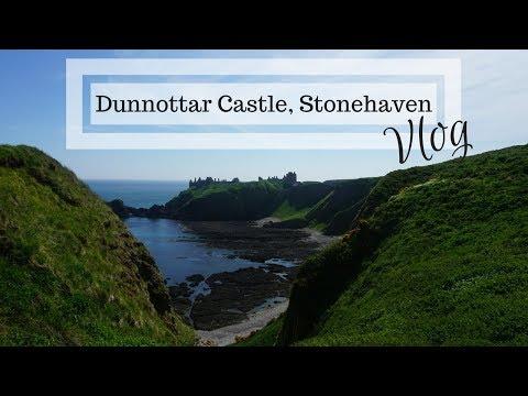 Trip to Stonehaven, Scotland | Dunnottar Castle | VLOG