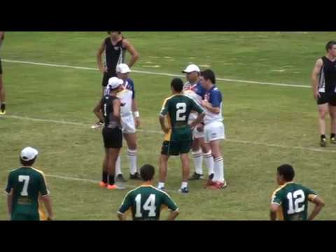 2011 Youth Trans Tasman Touch - Under 19 Boys New Zealand vs Australia Game 2 (1st half)