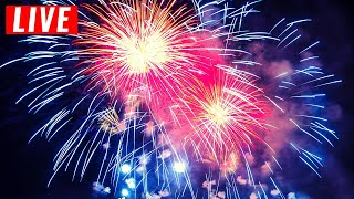 LIVE 4th of July Fireworks Show 2020 + Patriotic Music