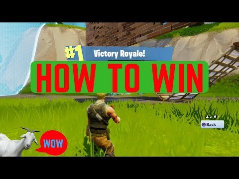 How to win EVERY GAME of Fortnite