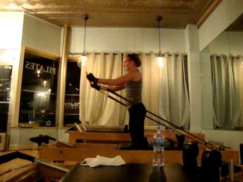My Pilates Advanced Reformer final testout for certification!