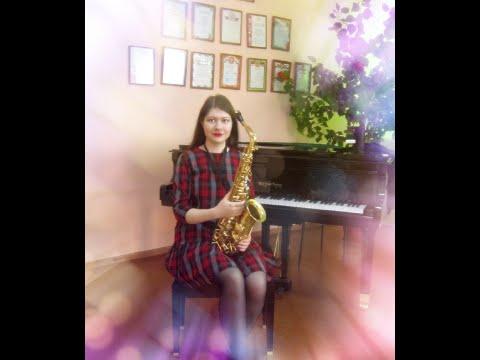 Арабская музыка (Тигран Петросян) - инструментальная версия  (Валерия, саксофон)