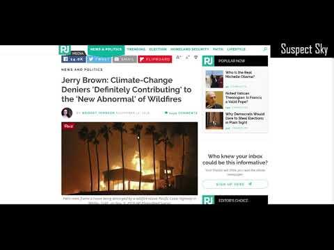 Nefarious Climate Agenda / Aluminum Oxide in California Wildfires [DISCUSSION]