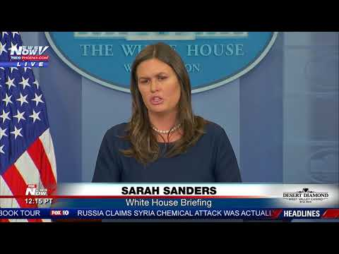 """MUST WATCH: Sarah Sanders RIPS Media On """"Admiration"""" For James Comey"""