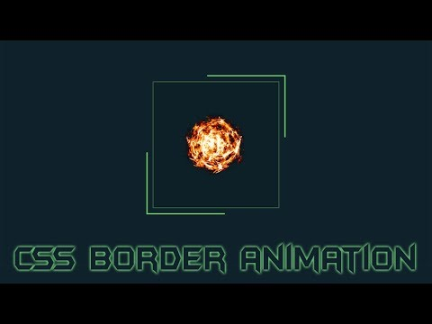 Css3 border Animation | Cool css effects 2019 | animate css thumbnail