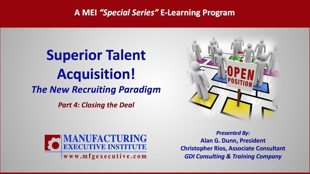 superior talent acquisition the talent acquisition framework part 4 - Talent Acquisition Consultant