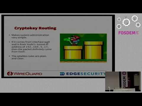 WireGuard: Next Generation Secure Kernel Network Tunnel Cutting edge crypto, shrewd kernel design, …