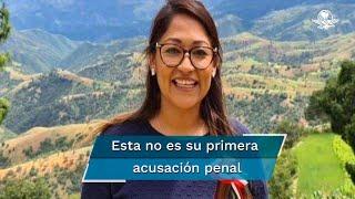 """Lizbeth Victoria Huerta es señalada como presunta responsable de la desaparición de la activista Claudia Uruchurtu; dice que es víctima de un """"juego sucio"""" de corte político y electoral"""