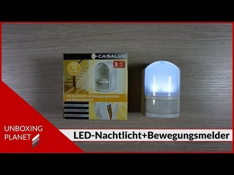 Nachtlicht mit Bewegungsmelder: Test & Empfehlungen (0720)