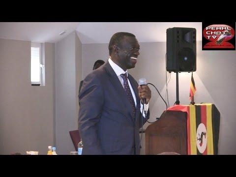 Dr Kizza Besigye in London UK