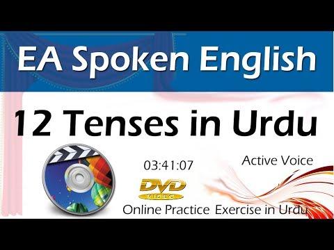 Ea English Tenses in Urdu Present Past Future Exercise & Test