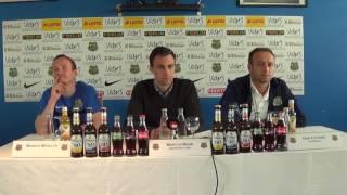 1. FC Saarbrücken - Stuttgarter Kickers| Pressekonferenz vor dem Spiel 32. Spieltag 16/17