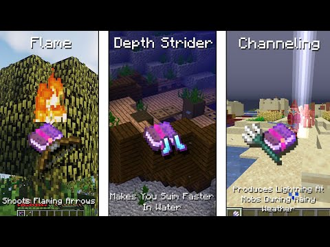 All Minecraft Enchantments And Their Use