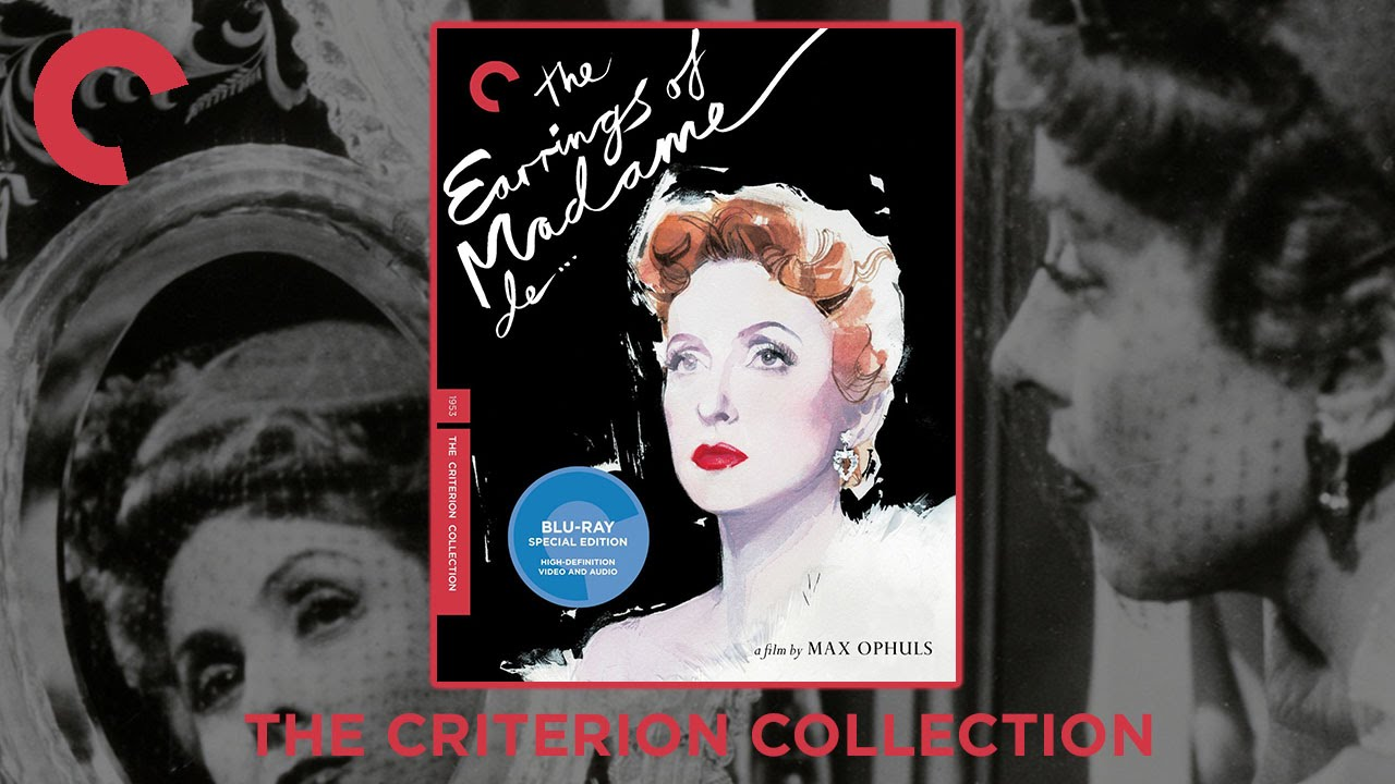 The Earrings Of Madame De… (1953)  The Criterion Collection Bluray  Digipack  Max Ophüls