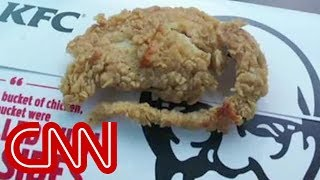 Diner says there's a rat in KFC's chicken
