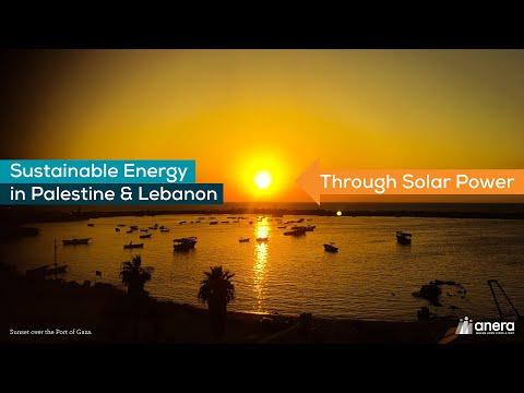 Sustainable Energy in Palestine & Lebanon Through Solar Power