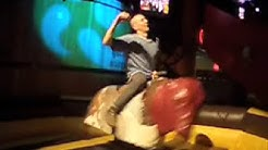 Bootie Rides a Mechanical Bull