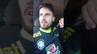 trampando no dia do jogo do Brasil