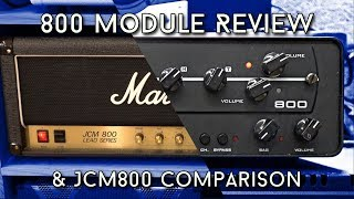 Synergy 800 Module Review - How close does it come to the real JCM800?