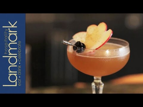 2013 Domaine De Canton Bartender Of The Year Entry - Jersey Ginger Fall Cocktail