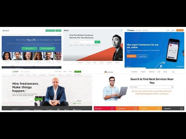 Best Freelance Websites 2020 Top 5 Freelancing Sites In India 2019 To Make Money   Rockerstop