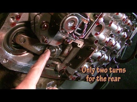 How to adjust bands and change automatic transmission fluid