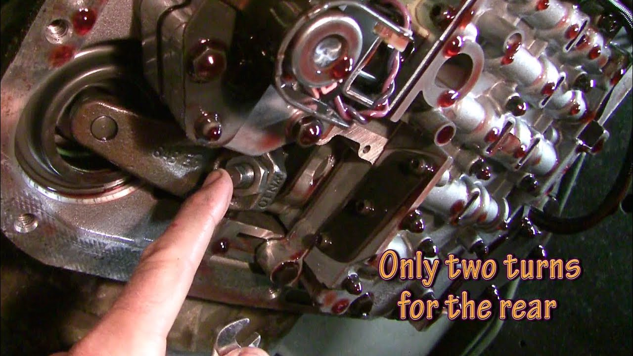 How to adjust bands and change automatic transmission fluid  YouTube