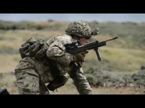 British News   Exercise Southern Warrior   live firing in the Falklands with 1RRF