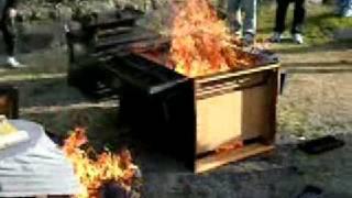 Butsudan burning 4