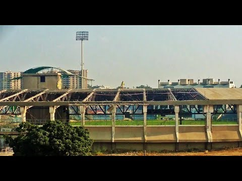 Construction work National Stadium For Psl